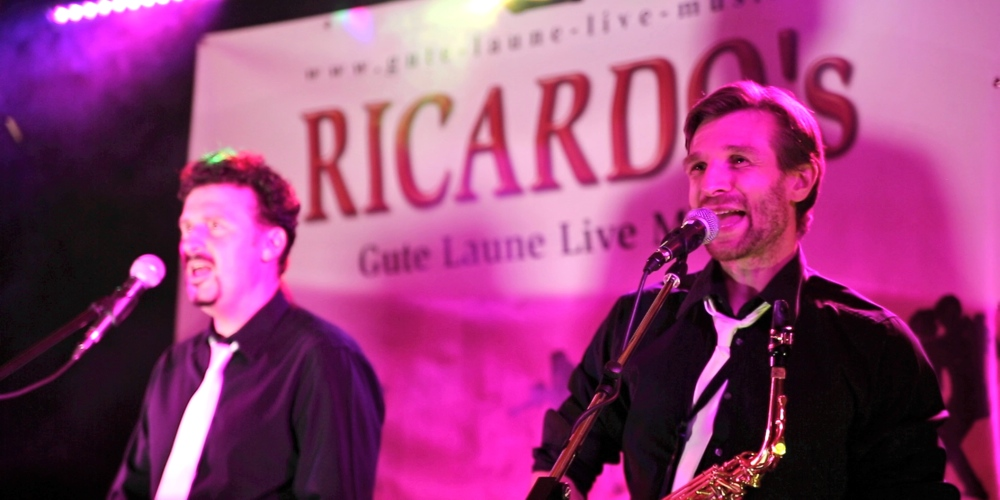 RICARDO's Partyband Bayern live
